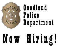 Goodland Police Department - Now Hiring!
