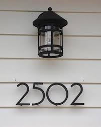 Free House Numbers Now Available at City Hall