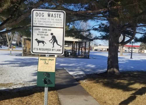 Parks Department Adds Dog Waste Stations to Several City Parks