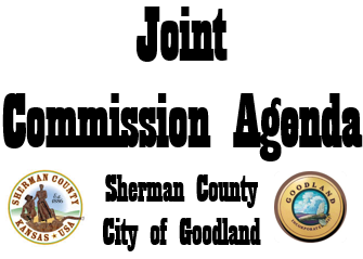 Tuesday, May 12, 2020 Joint City/County Commission Meeting – 1006 Center Ave. at 8:00am